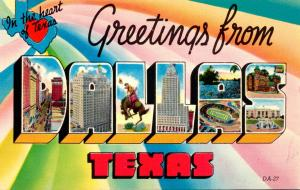 Texas Greetings From Dallas