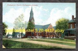 4437 - COLLINGWOOD Ontario c1908-10 Presbyterian Church by Stedman