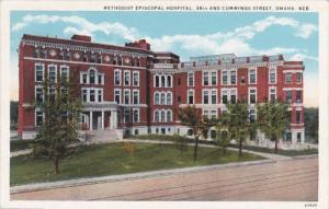 Nebraska Omaha Methodist Episcopal Hospital 36th and Cummings Street Curteich
