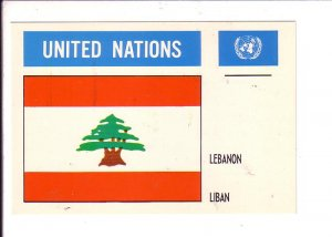 Lebanon  Flag, United Nations