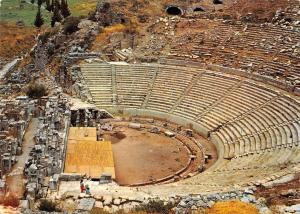 Turkey Efes - Ephesus Great theatre and 25.000 people seats, 66 rows