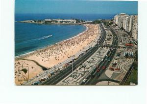 Postcard Brazil Copacabana Beach Coast Beach Seal   # 3868A
