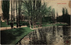 CPA Tout Paris - 830 - Buttes-Chaumont, 19e (76664)
