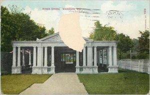Old Postcard Hygeia Spring Waukesha Wis
