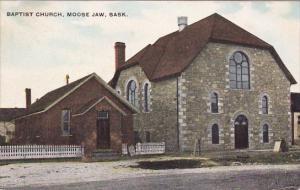 Baptist Church, MOOSE JAW, Saskatchewan, Canada, PU-1914