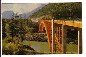 Alexander Bridge, Fraser Canyon, British Columbia, Used in Hope 1969