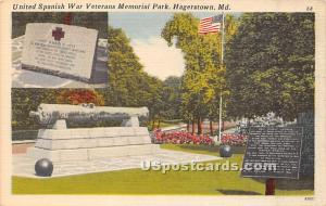 United Spanish War Veterans Memorial Park Hagerstown MD Unused