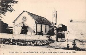 Ethiopia Dirre-Daoua Dire Dawa Eglise de Mission Church 1924