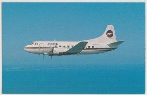 PBA AIRLINES Propeller Aircraft airplane MATIN 404 Postcard FL