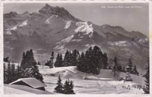 Switzerland Dents du Midi vues de Villars 1956Photo