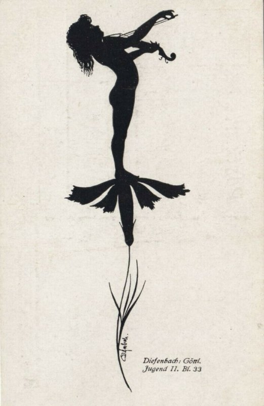 DIEFENBACH : Fantasy Silhouette , 00-10s ; Jugend II. Bl.33