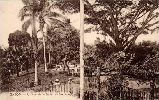 Un Coin De La Station De Samkita, Gabon, Africa, 1900-1910s