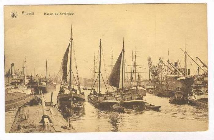 Anvers, Bassin du Kattendyck, Belgium, 00-10s