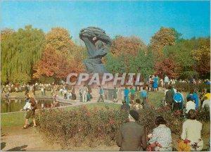 Postcard Modern Warszawa Pomnik Chopina w Parku Fryderyka Lazienkowskim Nowic...