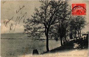 CPA Dauphiné - Le Lac de PALADRU (hiver) (434555)