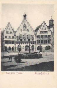 Neue Romer - Facade, Frankfurt a. Main, Hesse, Germany, 10-20s