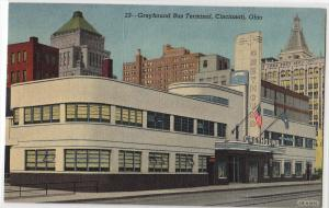 Greyhound Bus Terminal, Cincinnati OH