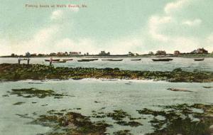 ME - Wells Beach. Fishing Boats