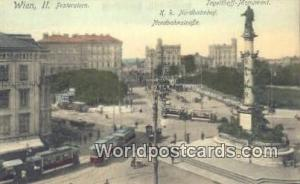 Wien II Germany, Deutschland Postcard Praterstern Wien Praterstern