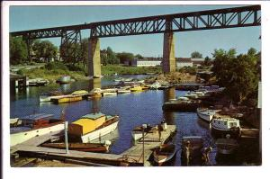 Water Front, Parry Sound, Ontario, Boats, Thompson
