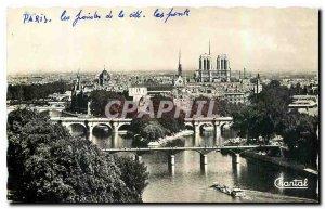 CARTE Postale Old Paris Pointe de la Cite and Bridges