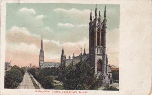 Scenic view,  Metropolitan Church,  Bond Street,  Toronto,  Ontario,  Canada,...