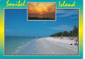 Florida Sanibel Island Beach Scene