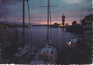 Sunset over Calibogue Sound , HILTON HEAD ISLAND , South Carolina , PU-1976