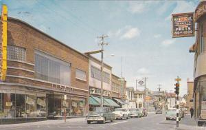 JONQUIERE , Quebec, 1950-60s ; Main Street