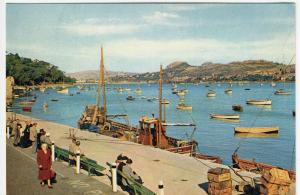 Caernarvonshire; Yachts At Anchor In Harbour, Conway PPC By Dixon, Unposted