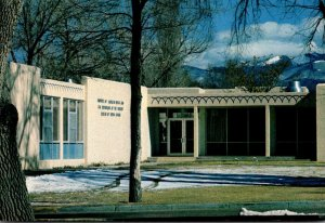 New Mexico Albuquerque Institute Of Amerian Indian Arts Administration Building