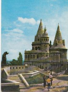 Hungary, BUDAPEST, Fisher's Bastion, 1968 used Postcard