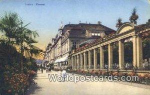 Kursaal Luzern Swizerland Unused