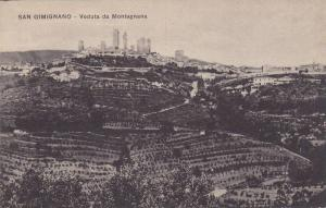 Veduta Da Montagnana, S. Gimignano (Siena), Tuscany, Italy, 00-10s