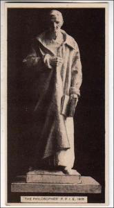 CA - San Francisco. The Philosopher, Panama-Pacific Int'l Exposition, 1915