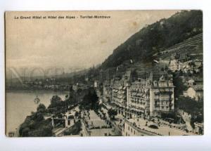 151854 Switzerland TERRITET MONTREUX Grand HOTEL des Alpes