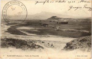 CPA AK MAROC Geiser TAOURIRT Vallée de l'Oued-Za (69089)