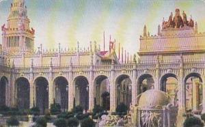 Tower Of Jewels  Court Of Abundance Panama Pacific Int Expo San Francisco 1915