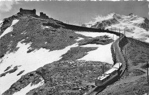 br106152 gornergratbahn mit monte rosa Switzerland train railway