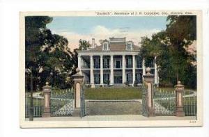 Dunleith  JN Carpenter's Home, Natchez, Mississippi, 1939