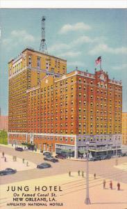 Louisiana New Orleans The Jung Hotel Curteich