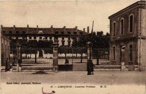 CPA LIBOURNE - Caserne Proteau (655343)