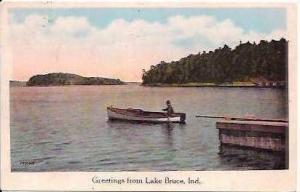 IN Lake Bruce Greetings From 1928