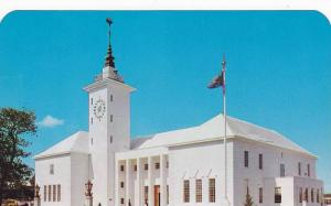 Exterior,  The City Hall of Hamilton,  Bermuda,  40-60s