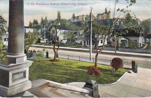 OREGON CITY, Oregon, PU-1911; In The Residence District