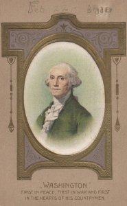 George Washington Silk Portrait , 1910 ; WINSCH