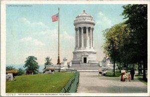 New York City~Mother & Baby Stroller~Solder & Sailors Monument~1910 Detroit Pub
