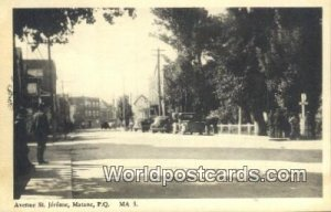 Avenue St Jerome Matane, PQ Canada Unused