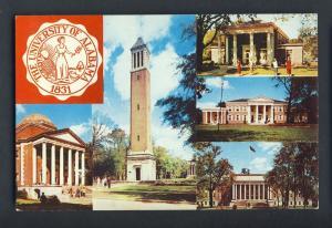 Tuscaloosa, Alabama/AL Postcard, University Of Alabama