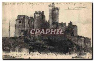 Postcard Old Castle My Bonnaguil